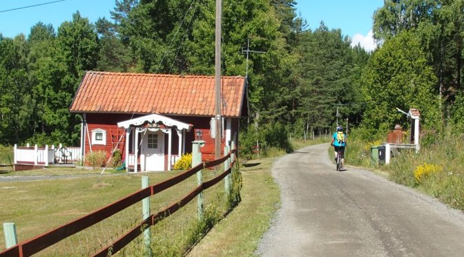 Cykling Näckrosleden 2018-07-12 Etapp 3 Nyköping – Jönåker