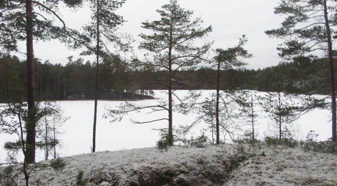 Vandring Sörmlandsleden 2018-01-16 Etapp 23 Svalboviken – Hälleforsnäs